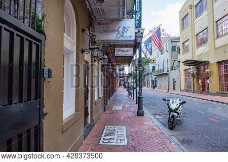 New Orleans, La - July 22: Arnaud's Restaurant In The French Quarter On July 22, 2021 In New Orleans