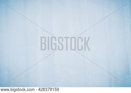 Retro Blue Wall Background With White For The Background. Can Be Assembled To Decorate Beautifully.