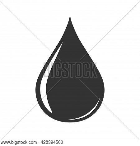 Liquid Droplet. Simple Illustration For Logo, Icon, Symbol, Or Design Element. Liquid Droplet Illust