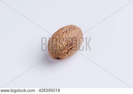 Nutmeg (myristica Fragrans) Closeup