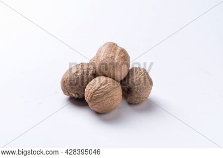 Pyramid Of Nutmeg, Myristica Fragrans