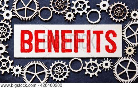 Benefits Income Compensation Advantage Assistance Concept Business.