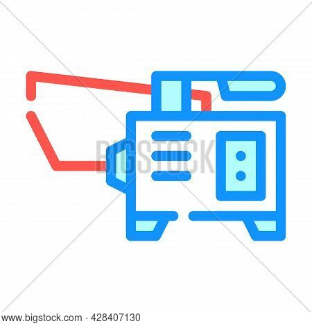 Spot Welding Color Icon Vector. Spot Welding Sign. Isolated Symbol Illustration