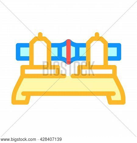 Butt Welding Color Icon Vector. Butt Welding Sign. Isolated Symbol Illustration