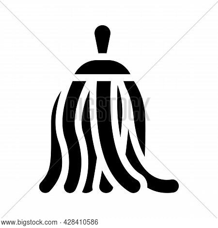 Stylish Dancer Accessory Glyph Icon Vector. Stylish Dancer Accessory Sign. Isolated Contour Symbol B