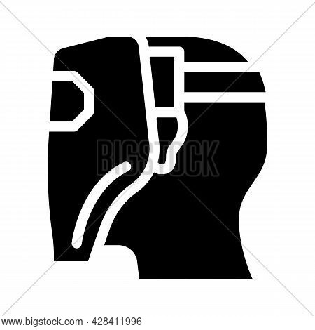 Worker Welder Glyph Icon Vector. Worker Welder Sign. Isolated Contour Symbol Black Illustration
