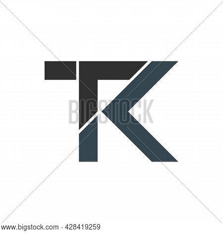 Illustration Vector Graphic Of Logo Letter T K