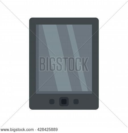 Cloud Ebook Icon. Flat Illustration Of Cloud Ebook Vector Icon Isolated On White Background