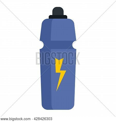 Energetic Drink Icon. Flat Illustration Of Energetic Drink Vector Icon Isolated On White Background