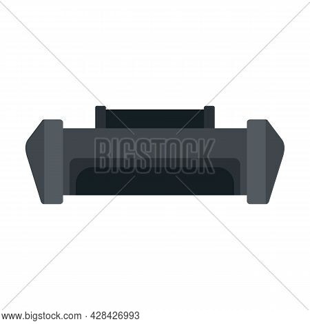 Service Cartridge Icon. Flat Illustration Of Service Cartridge Vector Icon Isolated On White Backgro