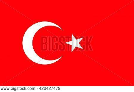 Fire In Manavgat Antalya Turkey, Fire Fumes In The Turkey. Pray For Turkey Illustration.turkey Flag.