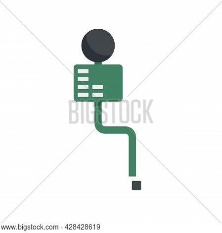 Cellular Phone Piece Icon. Flat Illustration Of Cellular Phone Piece Vector Icon Isolated On White B