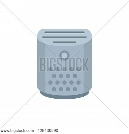 Climate Air Purifier Icon. Flat Illustration Of Climate Air Purifier Vector Icon Isolated On White B