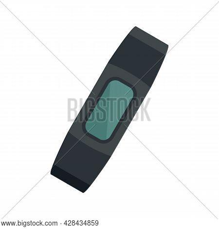 Smart Bracelet Device Icon. Flat Illustration Of Smart Bracelet Device Vector Icon Isolated On White