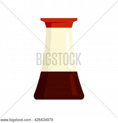 Vinegar Pot Icon. Flat Illustration Of Vinegar Pot Vector Icon Isolated On White Background