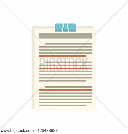 Editor Create Icon. Flat Illustration Of Editor Create Vector Icon Isolated On White Background