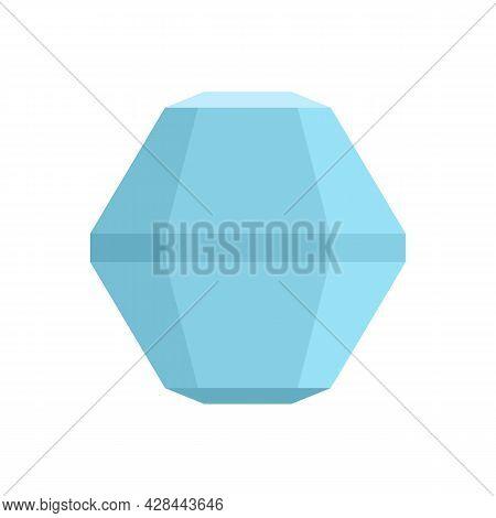 Fashion Jewel Icon. Flat Illustration Of Fashion Jewel Vector Icon Isolated On White Background