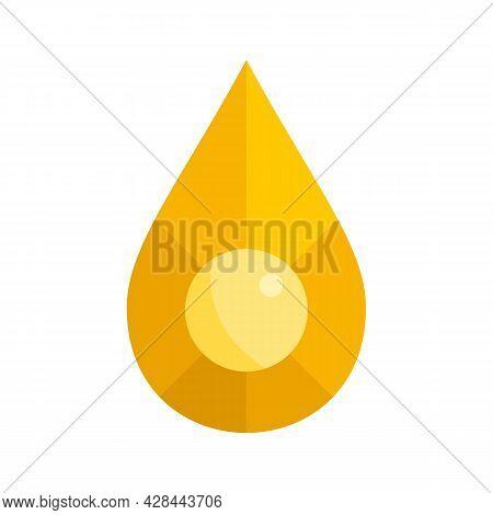 Jewel Shape Icon. Flat Illustration Of Jewel Shape Vector Icon Isolated On White Background