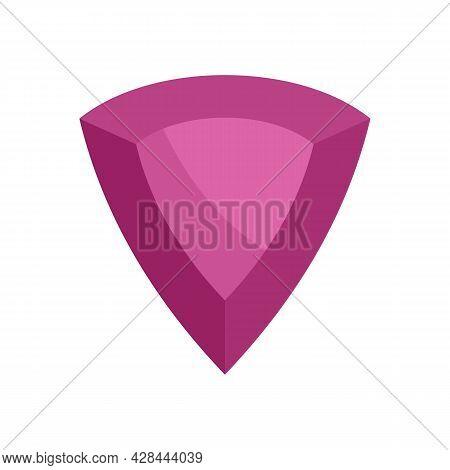 Award Jewel Icon. Flat Illustration Of Award Jewel Vector Icon Isolated On White Background
