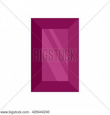Vintage Jewel Icon. Flat Illustration Of Vintage Jewel Vector Icon Isolated On White Background
