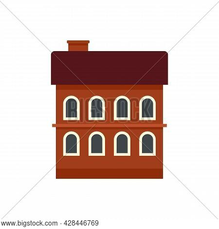 Riga Building Icon. Flat Illustration Of Riga Building Vector Icon Isolated On White Background