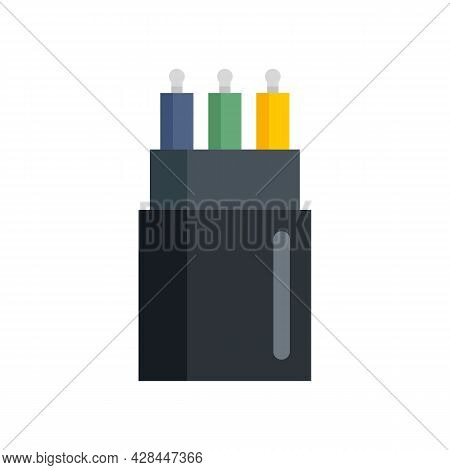 Connection Cable Icon. Flat Illustration Of Connection Cable Vector Icon Isolated On White Backgroun