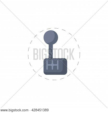Racing Gear Box Clipart. Transmission Simple Vector Clipart. Racing Gear Isolated Clipart.