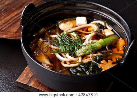 Japanese Cuisine - Miso Soup poster