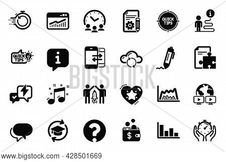 Vector Set Of Education Icons Related To Education Idea, Talk Bubble And Continuing Education Icons.