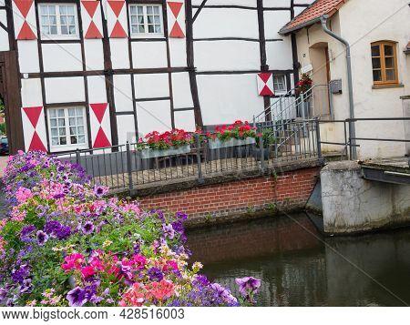 the small village of gemen in westphalia