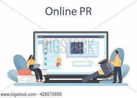 Government Pr Online Service Or Platform. Political Party