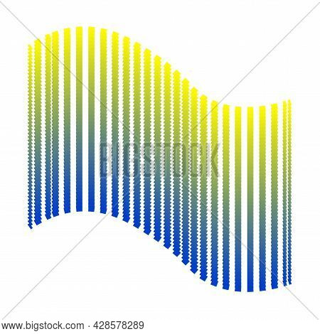 Abstract Background Yellow With Blue. Independence Day Of Ukraine. Symbols Of Ukraine. National Flag