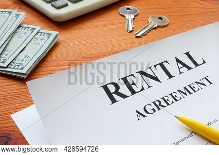 Property Rental Agreement For Filing In And Keys.