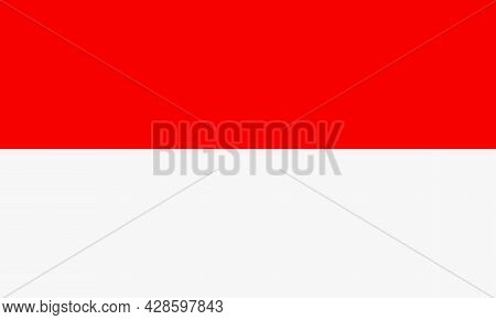 National flag of Indonesia, Indonesia flag in standard proportion color mode RGB. Indonesia flag. Indonesia flag icon, Indonesia flag, Indonesia flag image, Indonesia vector image, Indonesia flag png, Indonesia flag jpg, flag of national of Indonesia. vec