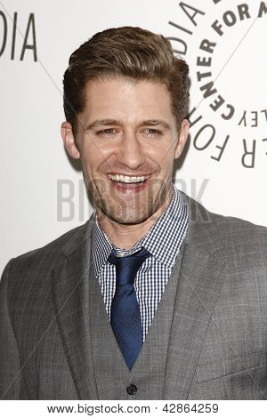BEVERLY HILLS - MAR 16:  Matthew Morrison arriving at the 2011 PaleyFest honoring 'Glee' held at the Saban Theater in Beverly Hills on March 16, 2010.