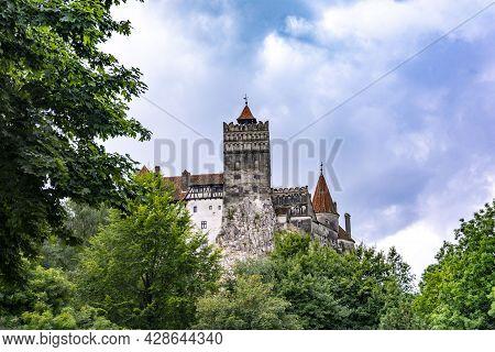 The Legendary Dracula Castle In Bran, Romania