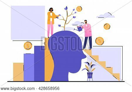 Mentoring And Coaching, Human Potential Progress Concepts. Business Guide, Financial Development, Ed