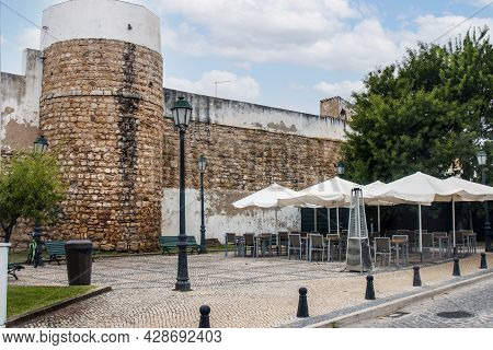 Old Wall Castle Of Faro City