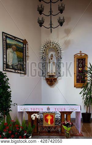 Zakopane, Poland, June 8, 2021: Part Interior Of The Holy Cross Church In Zakopane, Poland