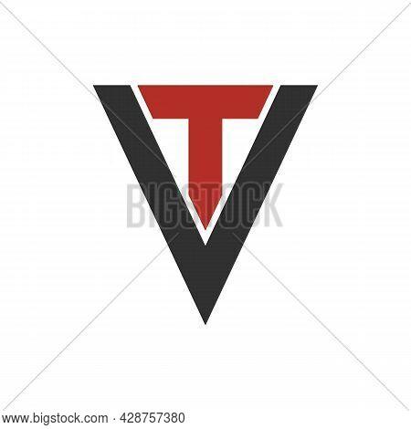 Illustration Vector Graphic Of Tv Letter Logo
