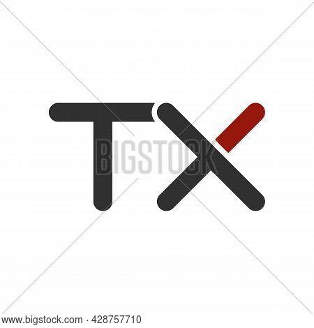 Illustration Vector Graphic Of Logo Letter Tx