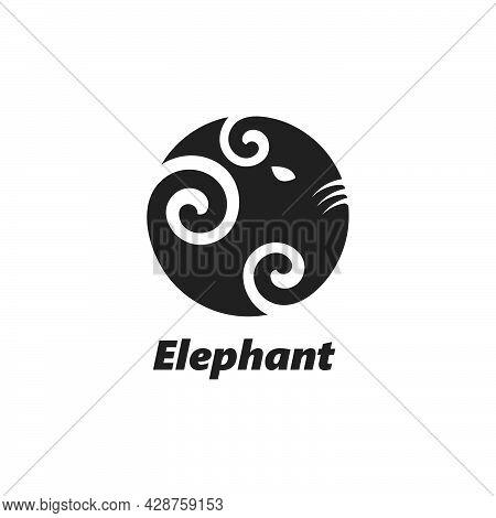 Elephant Logo Vector Icon Illustration