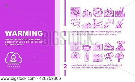 Male Occupation Job Landing Web Page Header Banner Template Vector. Miner And Policeman, Volunteer A
