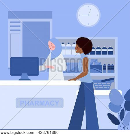 Pharmacist Which Blue Color Is A Person Who Professionally Qualified To Prepare And Dispense Medicin