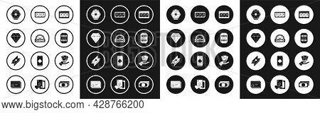 Set Online Slot Machine With Lucky Sevens Jackpot, Casino Signboard, Diamond, Lucky Wheel, Slot, Han