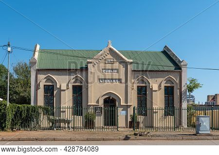 Aliwal North, South Africa - April 23, 2021: A Museum In The Historic Public Library Building, In Al