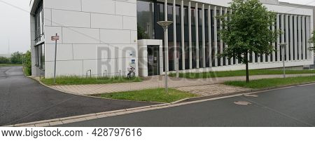 JENA, GERMANY - MAY, 29, 2016:  Septomics is a cross-faculty research centre of the Friedrich Schiller University Jena.