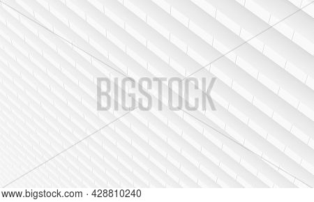 White Abstract Plaster Background. Architecture And Interior Concept. 3d Illustration Rendering