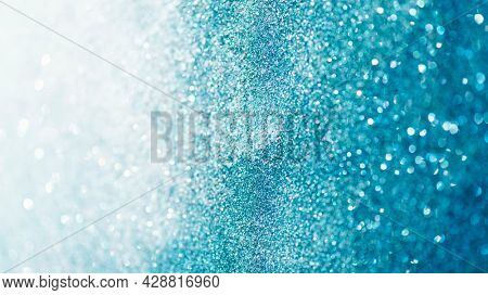 Sparkly teal glitter background design