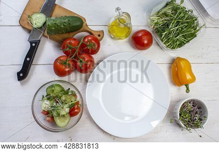 Fresh Vegetables. Home-grown Vegetables. Fresh Organic Vegetables. Colorful Vegetable. Healthy Veget